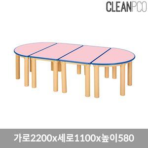 열린책상 기본다리 580 책상 의자 책꼿이