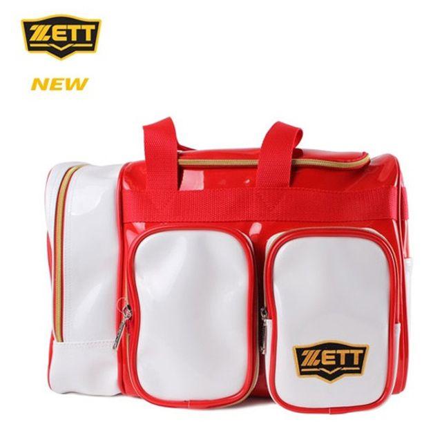 ZETT 제트 야구 개인장비 가방 BAK-537J 레드 보관함