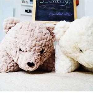 바이앨리 깜찍한 곰돌이 국내생산 똑똑한 스마트베어 쿠션 겸 방석 베게 다용도쿠션 극세사방석