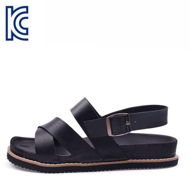 【韩国直邮】时尚男士凉鞋