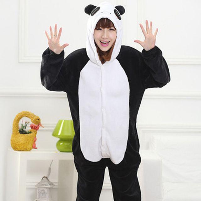 팬더 동물잠옷