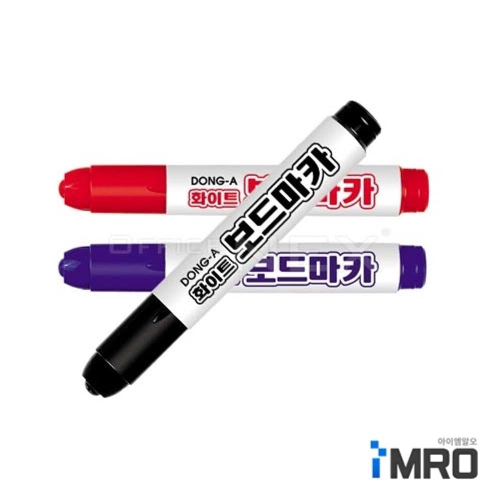 HE/ 동아 화이트보드마카 2.0mm 흑색