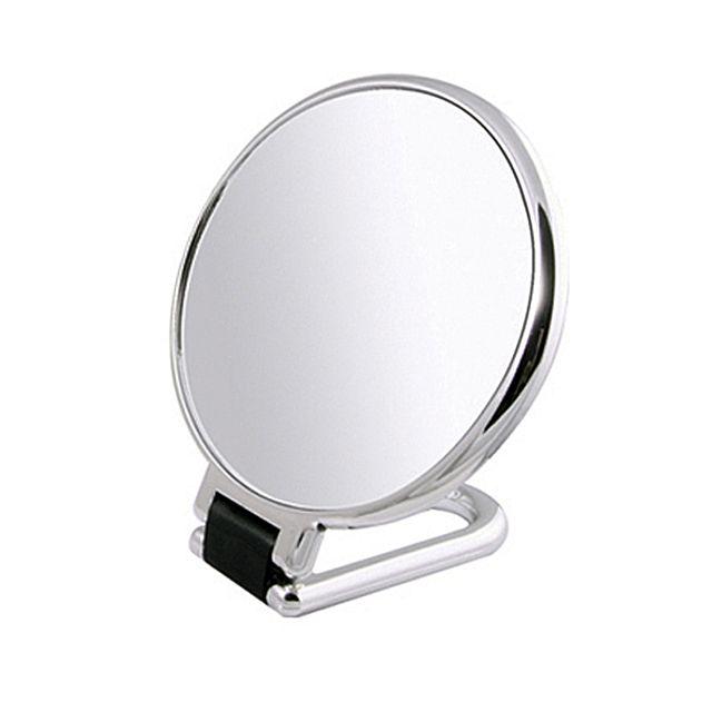 [빠띠라인]확대경 탁상양면거울 PL01-1(대) 탁상거울 스탠드거울 미용소품 화장소품 거울 [제작 대량 도매 로고 인쇄 레이저 마킹 각인 나염 실크 uv 포장 공장 문의는 네이뽕]