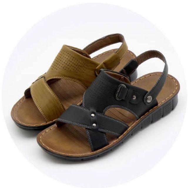 W 남성 샌달 엣지 샌들 스포츠 여름 신발 샌달 2색