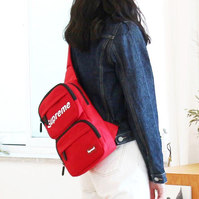 W 캐주얼 디자인 외출 패션 가방 남녀공용 메신저백