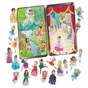 프린세스 마그네틱 여아 아동 선물 자석 놀이 장난감