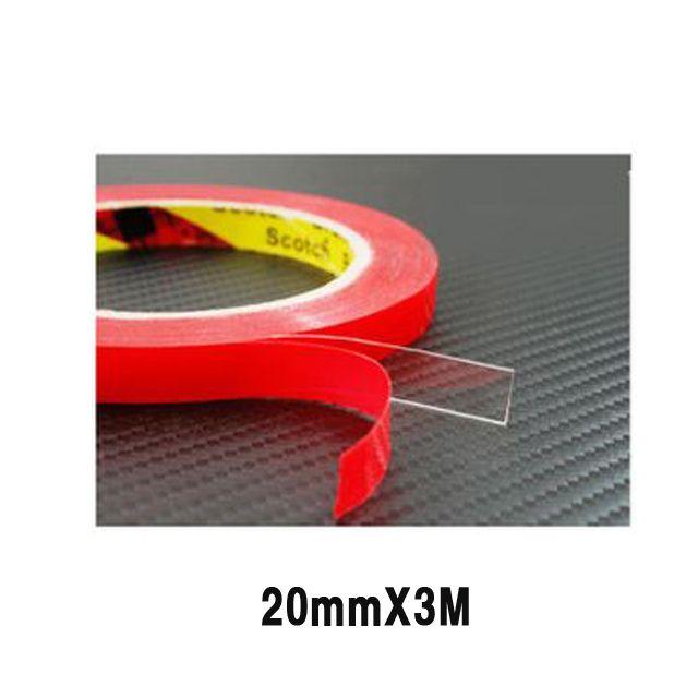 양면 테이프 투명 20mmX3M