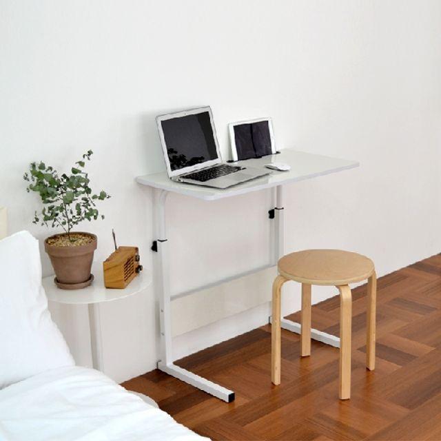 모던 1인용 책상 각도조절 베드트레이 간이테이블