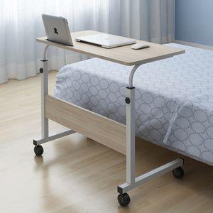 대형 이동식책상 80x40 침대 사이드 탁자 테이블 협탁