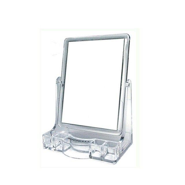빠띠라인 탁상형 사각 아크릴 거울 중 ST404 [제작 대량 도매 로고 인쇄 레이저 마킹 각인 나염 실크 uv 포장 공장 문의는 네이뽕]