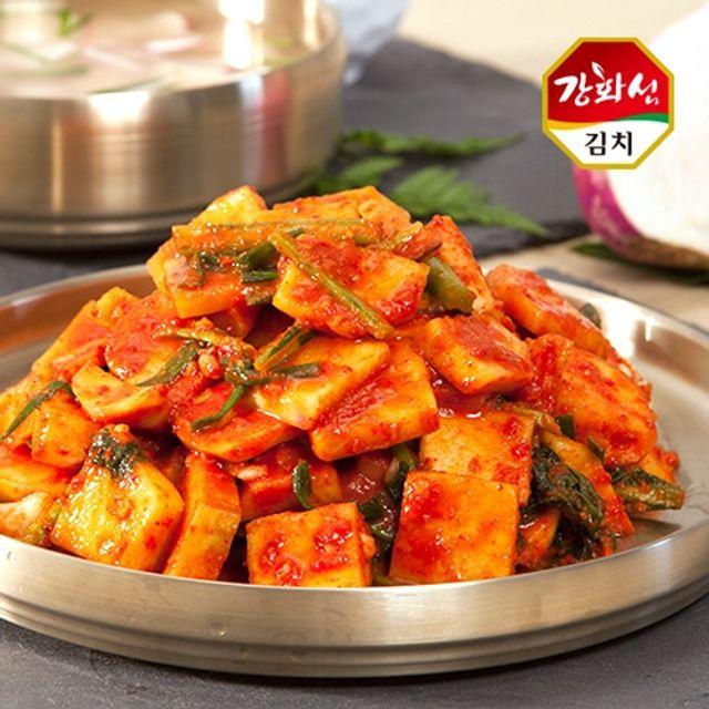강화특산물 강화섬 순무김치 10kg,김치,무김치,순무김치,순무,김장
