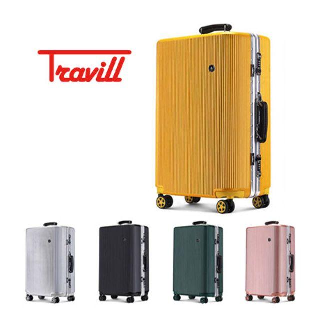 트레빌,콜린스,기내용,PC캐리어,알루미늄,알루미늄프레임,여행가방,여행용가방,여행캐리어,TSA
