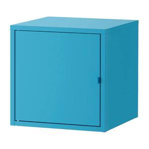 LIXHULT 릭스훌트 수납장 메탈/블루 604.765.18