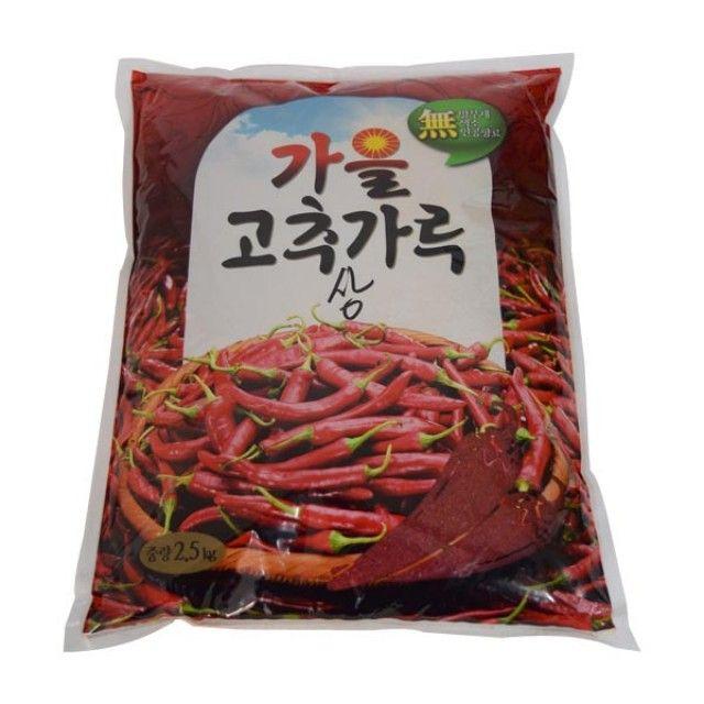 가을 상  고추가루 2.5kg,고추가루,고추,동성식품,식자재,농특산물