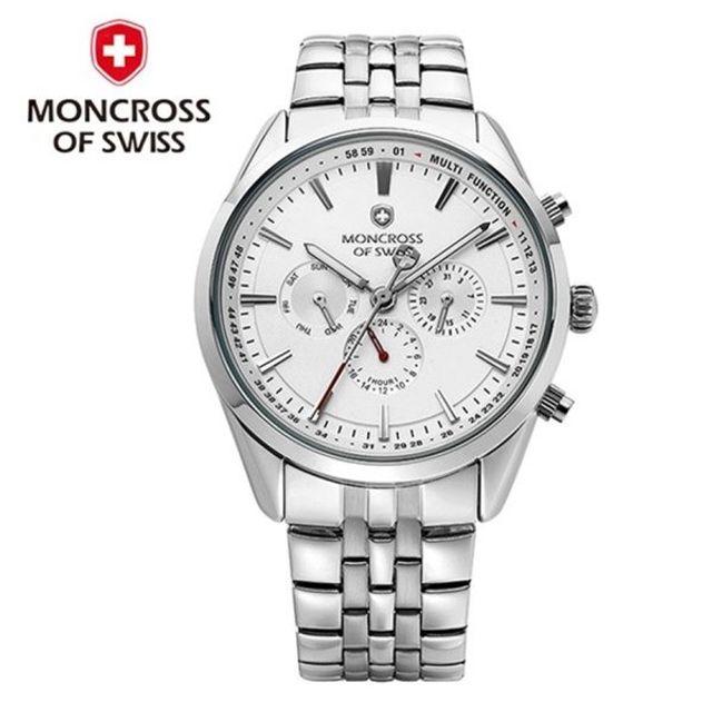 MONCROSS SWITZERLAND MS3810M WT 메탈시계