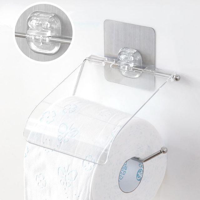 욕실 접착식 휴지걸이