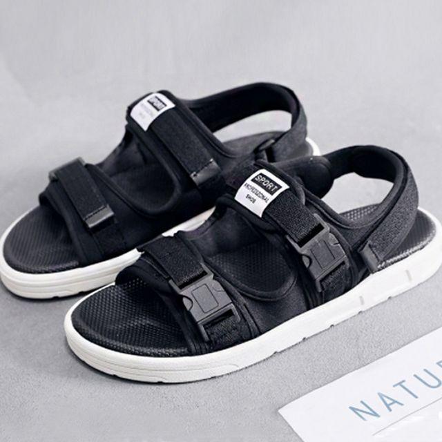 W 남자 여자 여름 편한 신발 캐주얼 패션 스트랩 샌들