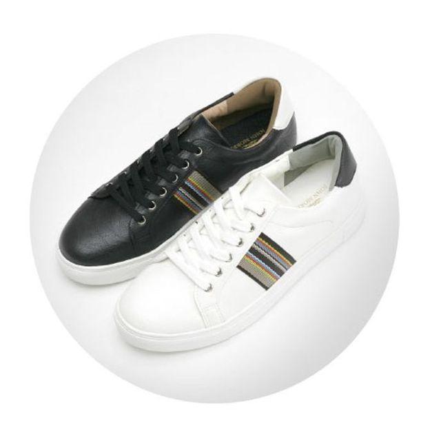 W 남성 운동화 워킹화 심플 스니커즈 런닝화 신발 2색