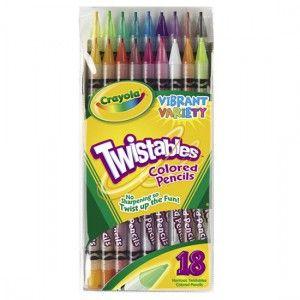 크레욜라 트위스트 색연필 18색