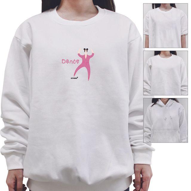 W 키밍 dance 댄스 여성 남성 티셔츠 후드 맨투맨 반팔