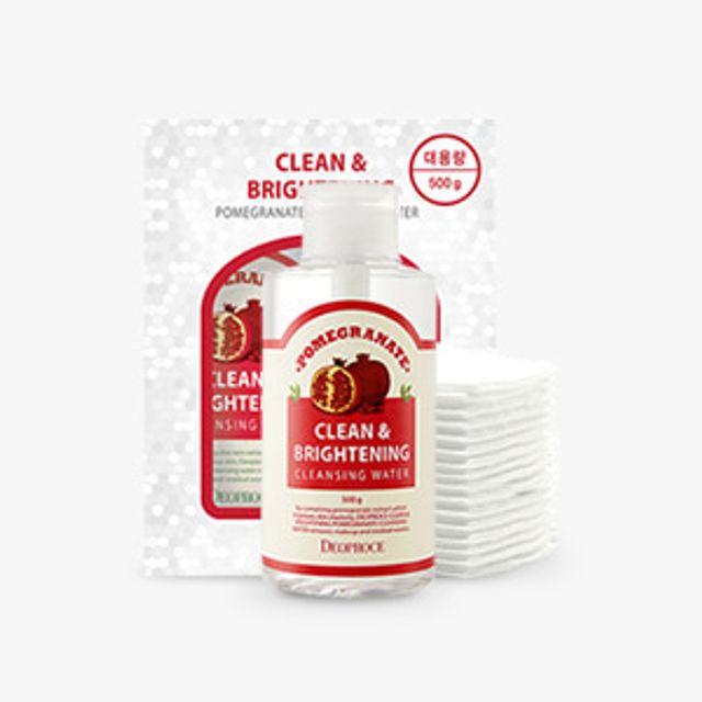 디오프러스 Clean and Brighting 석류클렌징워터500g+