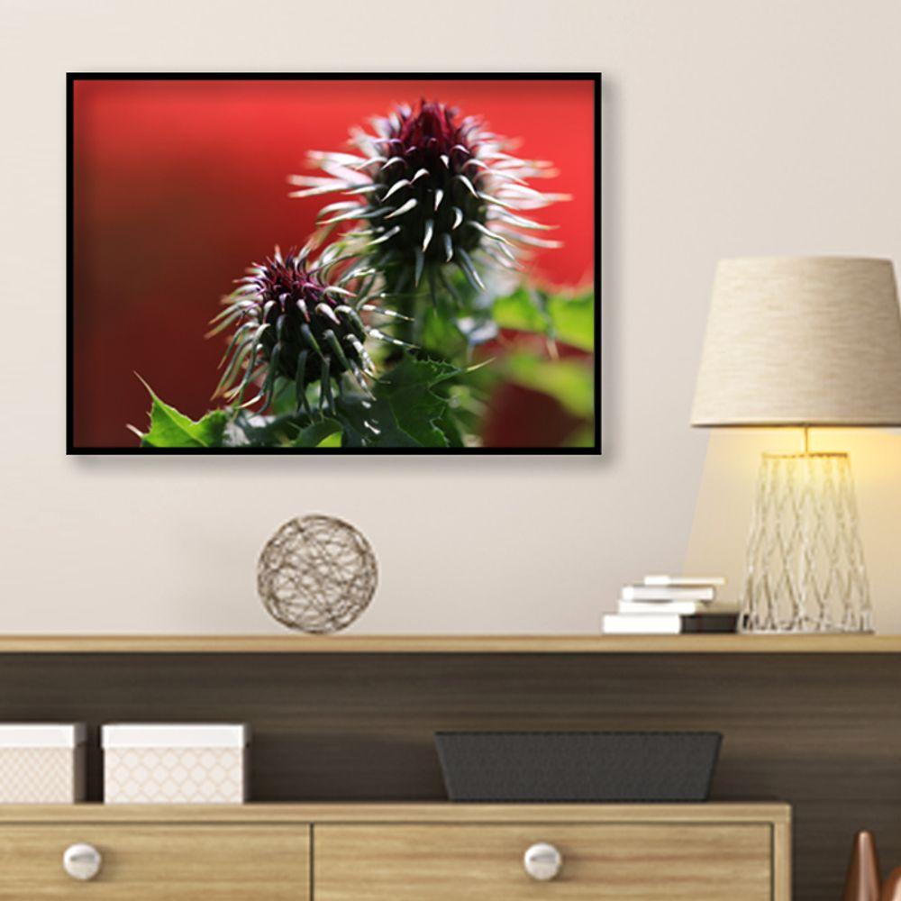 사진 인테리어 액자 벽걸이 꽃사진 작품 A3블랙AL9