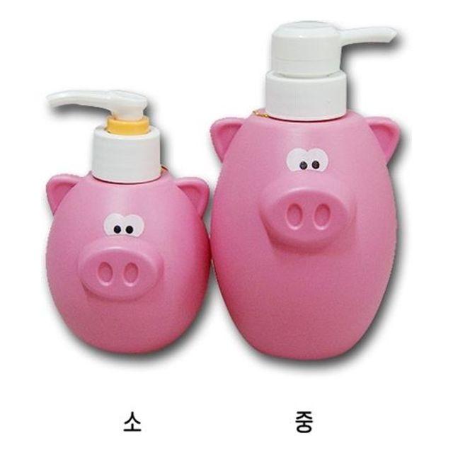 하니 다용도 돼지 펌프통 샴퓨통 비누통 린스통