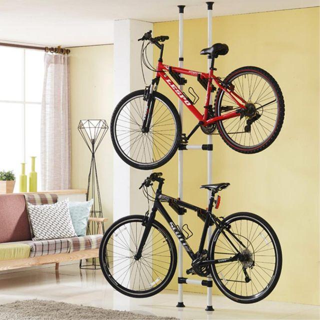 2단 실내 자전거거치대 거실 자전거 스탠드 보관대