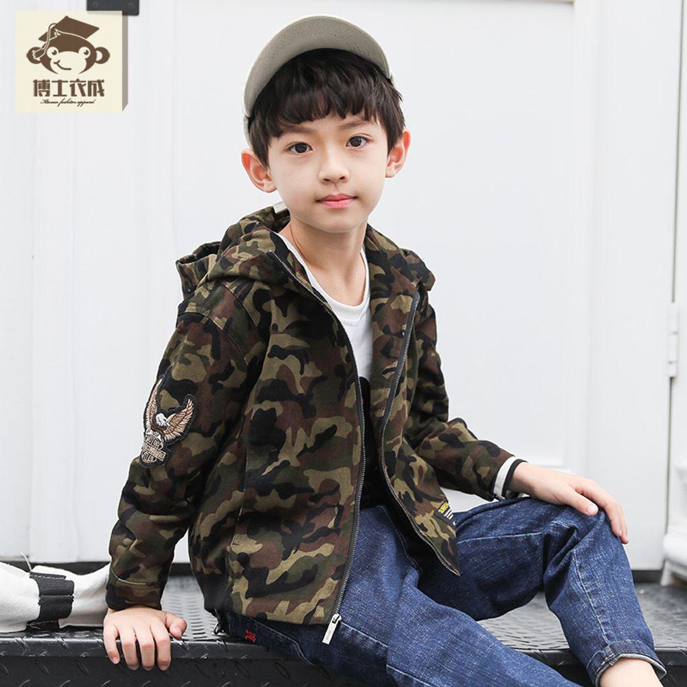 59096185bbe [더산직구]아동의류 소년재킷 가을 패션 남아의류위장 후드재킷/