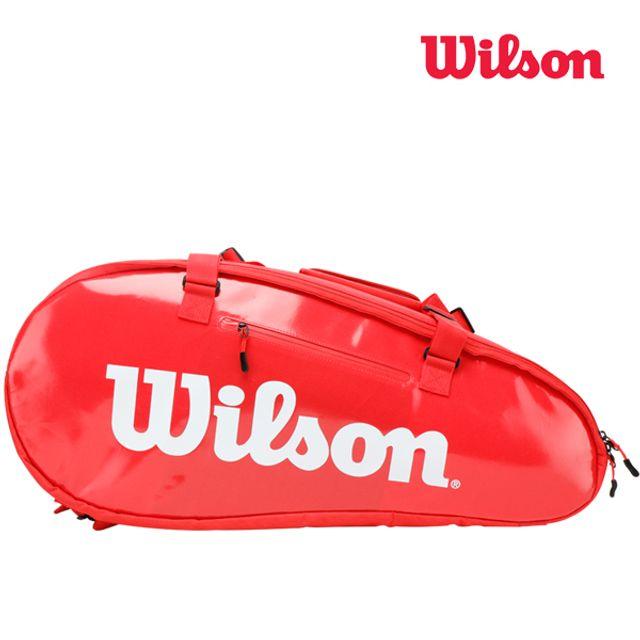 윌슨 WRZ840815 슈퍼투어3 콤푸 15PACK 레드 테니스백