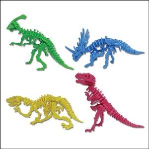 입체 EVA 4종세트 공룡화석