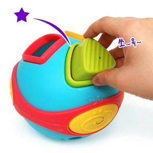 멜로디 사운드 블록 맞추기 도형 끼우기 장난감