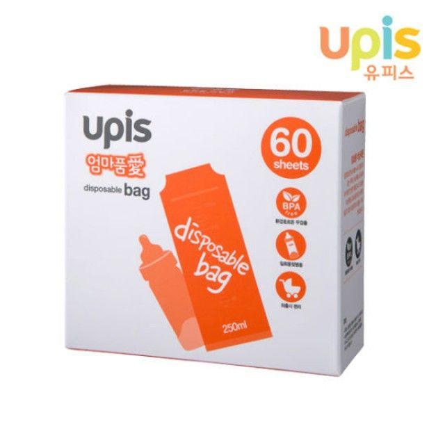 유피스 엄마품애 일회용 비닐팩(60매)