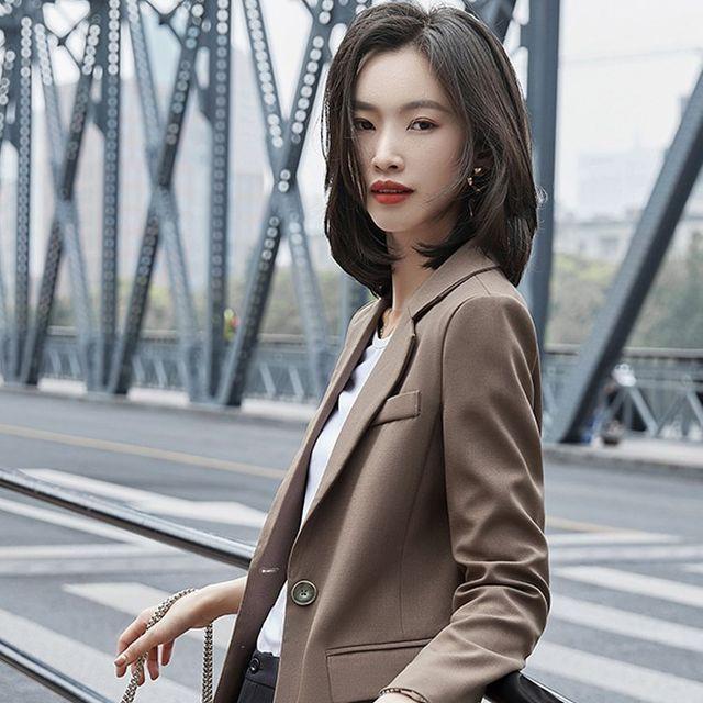 [해외] 여성 패션 재킷 자켓 정장세트리 작은 정장 재킷