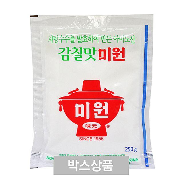 W27F1C4조미료 대상 청정원 미원 감칠맛 미원 250g X 80EA