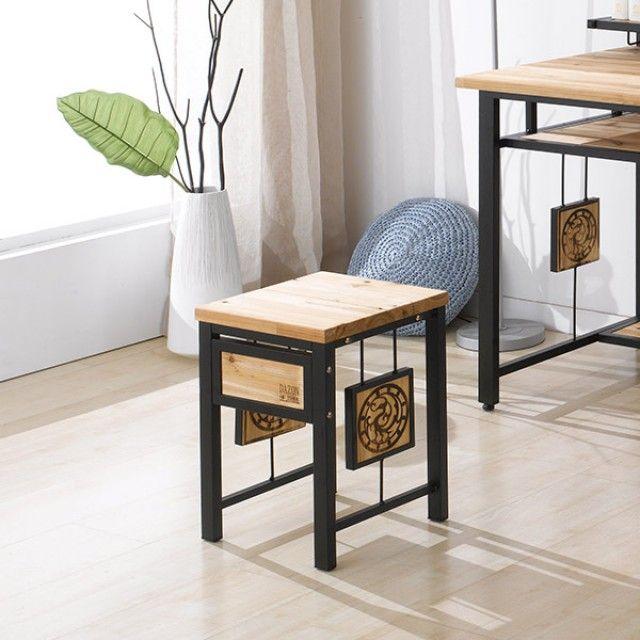 MISOGA 다움 삼나무원목 단의자