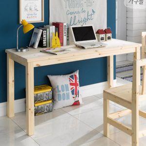 GD20-12 원목 테이블 1500 입식 식탁 책상 원목책상