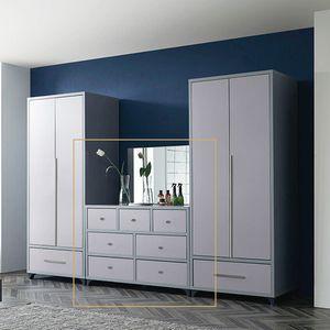 MISOGA 쉬크 와이드서랍장 1200+거울