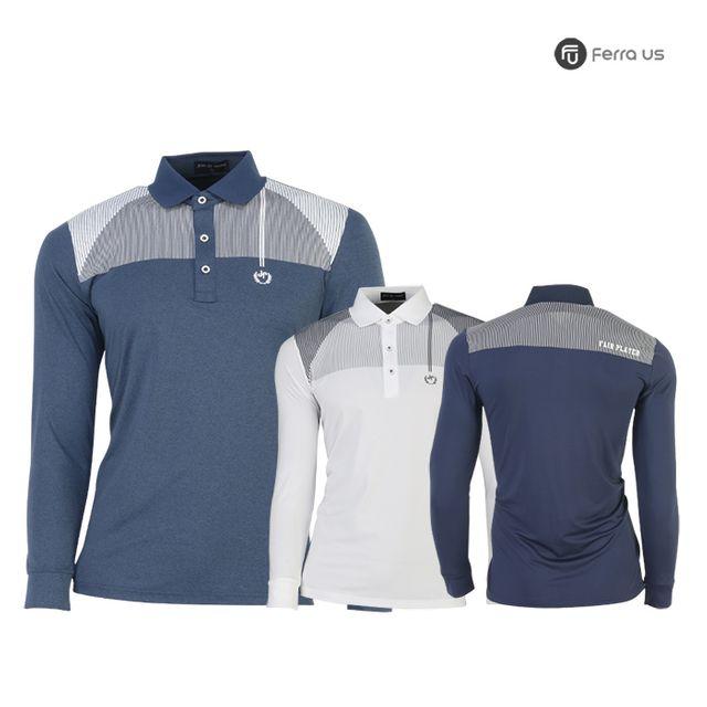 W TCC_페라어스 남성 골프 탑 매직아이 티셔츠 CTDJ2057