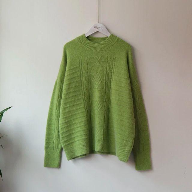[해외] Werynica 새로운 가을 겨울 여성 스웨터와 풀 오버 한