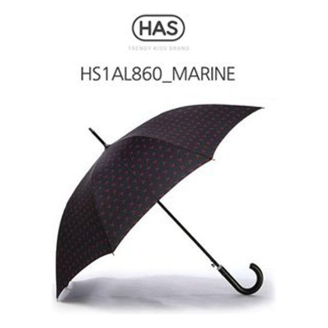 헤즈 자동 장우산 가죽핸들 HS1AL860 MARINE 250개 인쇄무료