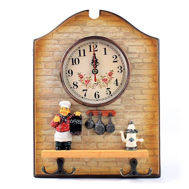 [현재분류명],나만의포인트 인테리어 요리사벽시계,탁상시계,알람시계,벽시계,인테리어벽시계