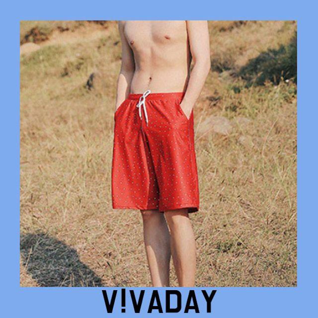 W VIVA-O135 도트남성수영복