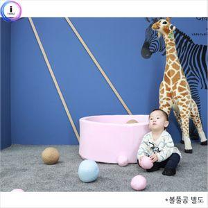 아가방 베이비룸-파스텔핑크 대형 아기방 놀이튜브