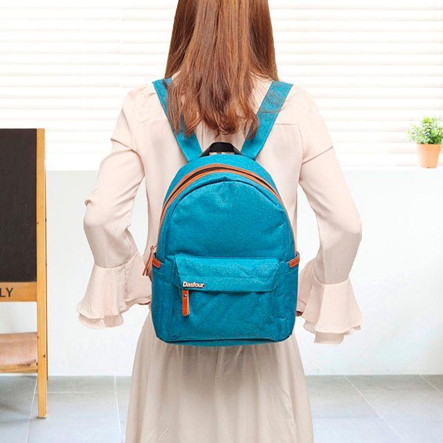 [현재분류명],세련되고 트랜디한 심플 블루백팩,백팩,캐쥬얼백팩,가방