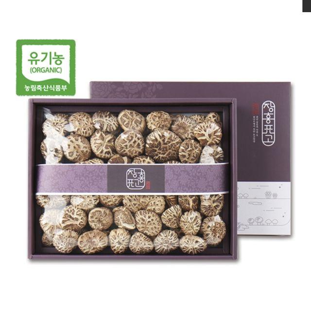 장흥표고버섯 백화고(상) 500g/참나무원목표고,참나무원목표고버섯,안전한먹거리,건버섯,말린버섯