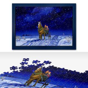 1000피스 직소퍼즐 빨강머리앤 고요한밤+우드블루