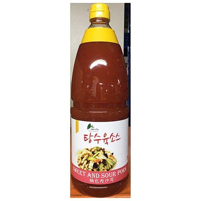 이슬 업소용 식자재 탕수육 소스 2Kg 8EA