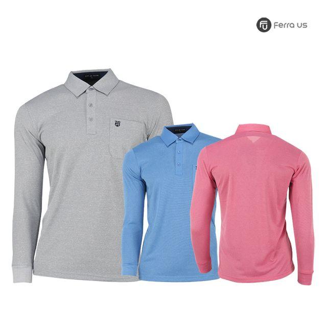 W TCC_페라어스 남성 골프 파스텔 컬러 티셔츠 CTDJ2060