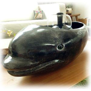 (예품) 실내정원 - 까망고래